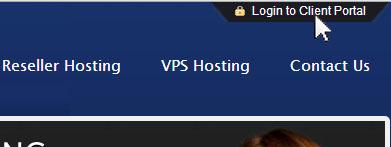 Web Hosting Client Portal